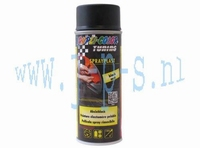 SPUITBUS SPRAY-PLAST 400 ML  ZWART DUPLI COLOR